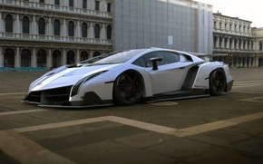 Картинка Авто, Lamborghini, Машина, Art, Суперкар, Рендеринг, Concept Art, Veneno, Lamborghini Veneno, Transport & Vehicles, Rostislav …
