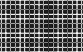 Картинка Линии, Квадраты, Фон, Иллюзия, Оптическая иллюзия, Обман, Обман зрения