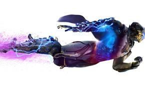 Картинка шторм, lightning, power, bioware, Electronic Arts, Anthem, STORM, EXOSUITS, JAVELIN