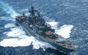 Картинка Адмирал Чабаненко, БПК, проект 1151.1