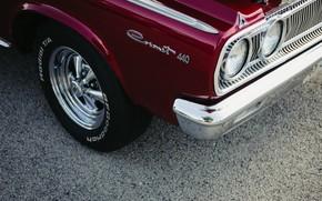 Картинка Dodge, Car, Classic, 1967, Hemi, Coronet 440