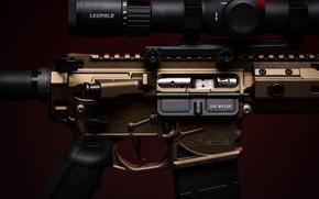 Картинка макро, дизайн, оружие, карабин, штурмовая винтовка