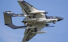 Картинка Истребитель, RAF, Шасси, Royal Navy, Sea Vixen, de Havilland Aircraft Company, de Havilland DH.110 Sea …