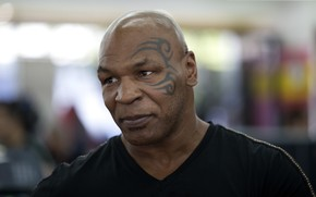 Картинка взгляд, тату, актер, боксер, Mike Tyson, Майк Тайсон, Michael Gerard Tyson