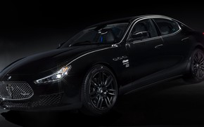 Картинка черный, суперкар, масерати, Special Edition, Maserati Ghibli, спортивный автомобиль, специальная серия, Maserati Ghibli Operanera, by …