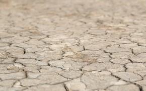 Картинка песок, пустыня, марс, трещина, сухо