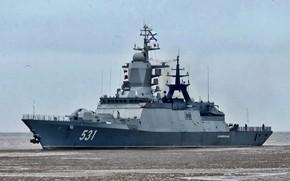 Картинка corvette, ship, russian, Project, navy, 20380, Soobrazitelny, Project 20380
