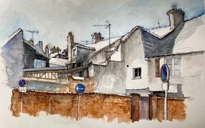 Картинка рисунок, Normandy, Arrondissement d'Évreux, Évreux