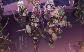 Картинка фон, гоблины, персонажи, Goblin Slayer, Убийца гоблинов