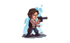 Картинка Star Wars, Han Solo, Derek Laufman