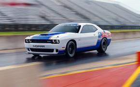 Картинка Dodge Challenger, Speed, Mopar, Vehicle, Drag Pak