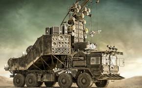 Картинка транспорт, конструкция, автомобиль, оборудование, Doof Wagon