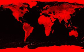 Картинка карта, Земля, материки