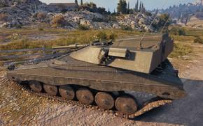 Картинка Швеция, средний танк, UDES 16