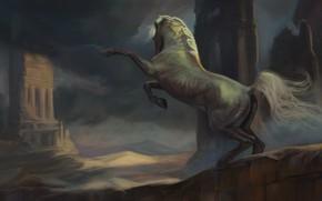 Картинка конь, лошадь, фЭнтези