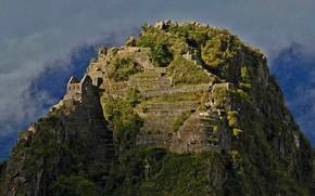 Картинка гора, руины, Перу, Уайна-Пикчу