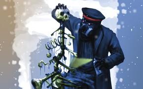 Картинка капитан, Romantically Apocalyptic, романтика апокалипсиса, ёлка из костей
