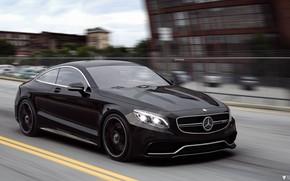 Картинка Авто, Черный, Машина, Mercedes, Car, Автомобиль, Render, AMG, Рендеринг, Черный цвет, Transport & Vehicles, Mercedes-Benz …