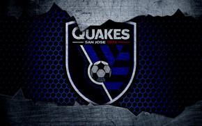Картинка wallpaper, sport, logo, football, San Jose Earthquakes