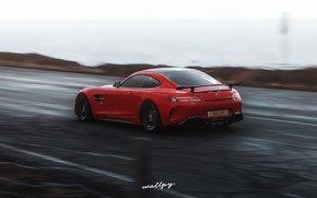 Картинка Mercedes-Benz, Microsoft, game, AMG, 2018, GT R, Forza Horizon 4, by Wallpy