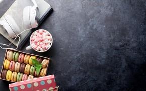 Картинка кофе, печенье, книга, Evgeny Karandaev