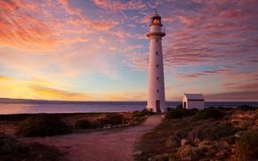 Картинка побережье, маяк, Австралия