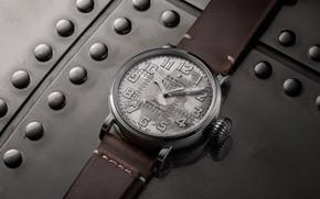 Картинка серебро, Зенит, Пилот, Zenith, Swiss Luxury Watches, 2019, швейцарские наручные часы класса люкс, analog watch, …