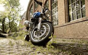 Картинка Blue, Motocycle, BMW R nineT