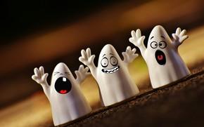 Картинка Хэллоуин, призраки, 31 октября