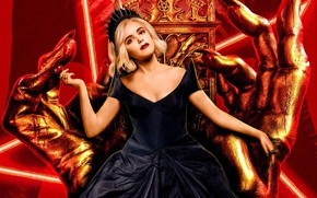 Картинка девушка, руки, трон, Chilling Adventures of Sabrina