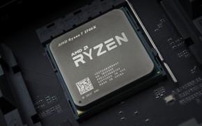 Картинка AMD, процессор, Кукуруза, Рязань, RYZEN, 2700X, Ryzen 7, Ряженка, AM4