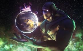 Картинка космос, earth, space, game, Valve, дота 2, planet, элементаль, dota 2, enigma, elemental, энигма