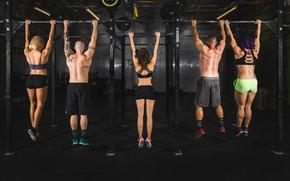 Картинка men, women, fitness, endurance, sportswear