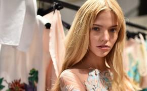 Картинка взгляд, поза, модель, hair, актриса., Sasha Luss, Саша Лусс