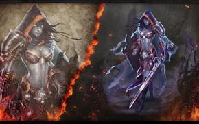 Картинка игра, фэнтези, арт, fantasy, art, CARISSA, THE ROGUE INQUISITOR, Shadows Awakening