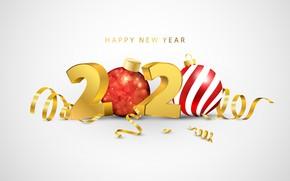 Картинка фон, 2020, Новыый год