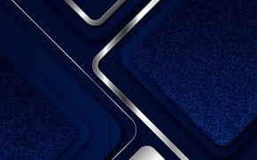 Картинка линии, синий, фон, серебро, текстура, Дизайн, Фон, Абстрактный, background, Геометрический