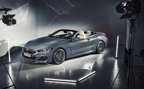 Обои BMW, кабриолет, 2018, Cabrio, xDrive, 8-Series, M850i