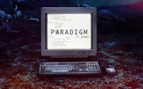 Картинка Music, Cover, Monstercat, Bad Computer, Karra, Paradigm