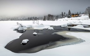 Картинка холод, зима, снег, лёд