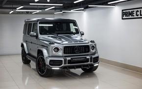 Картинка Mercedes-Benz, AMG, G-Class, Gelandewagen, TopCar, G63, 2020, Light Package