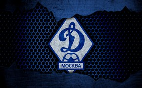 Картинка wallpaper, sport, logo, football, Dynamo Moscow