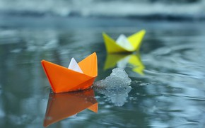 Картинка вода, фото, кораблики