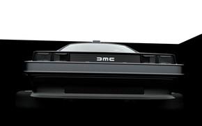 Картинка Car, DeLorean DMC-12, Art, DeLorean, DMC-12, Elt Fitzgerald, by Elt Fitzgerald