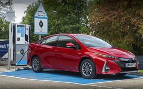 Картинка авто, фото, Toyota, Hybrid, Prius, Business Edition, 2019