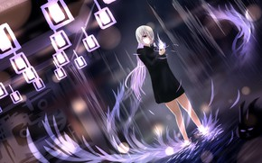 Картинка девушка, аниме, арт