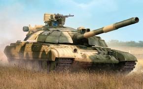 Картинка Украина, основной боевой танк, Vincent Wai, ОБТ, MBT, ВСУ, Т-64БМ Булат