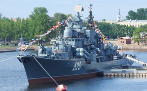 Картинка эсминец, Балтика, проект 956, Беспокойный