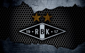 Картинка wallpaper, sport, logo, football, Rosenborg