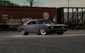 Картинка Muscle, Dodge, Car, Charger, Modified